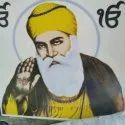 Ceramic Guru Nanak Photo Tile, For Home, Thickness: 8 - 10 Mm