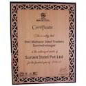 Customized Wooden Certificate