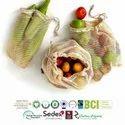 GOTS Organic Cotton String Bags