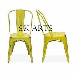 SK Arts Rustic Tolix Chair, For Restaurant