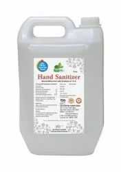 Alcoholic Hand Sanitizer 5 Liter Pack
