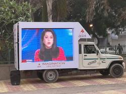Mobile Truck Mounted LED Screen Van
