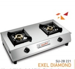 Double Burner Gas Stove SU 2B-221 Excel F.C