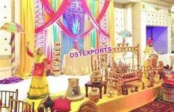 DST EXPORTS Stage Punjabi Birthday Theme Decoration