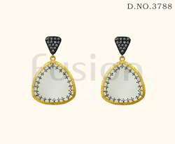 American Diamond CZ Chandelier Earring