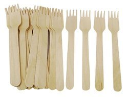 Somani Disposable Fork, Size: 6.3 inch/ 16 cm
