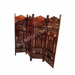 Antique Wooden Partition Screen