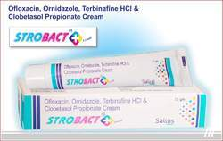 Strobact Plus Cream (Ofloxacin, Ornidazole, Terbinafine & Clobetasol Cream)