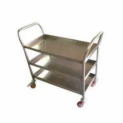 SS 3 Tier Trolley