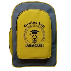 Yellow color School backpack