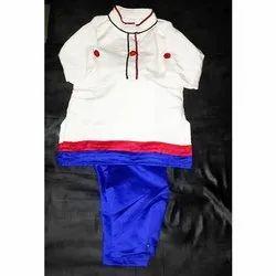 Silk Party Wear Kids Cotton Kurta Pajama, Size: 38, Packaging Type: Packet