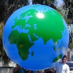 Globe Advertising Balloons