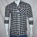 Trendzz Men Cotton Check Designer Shirt