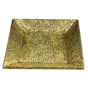 Rawsome Shack Brass Square Tray Set