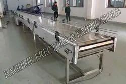 SS304 Slat  Conveyor