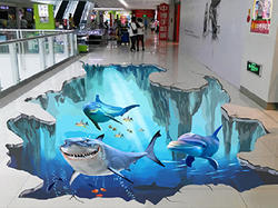 3D Commercial Room Painting Service