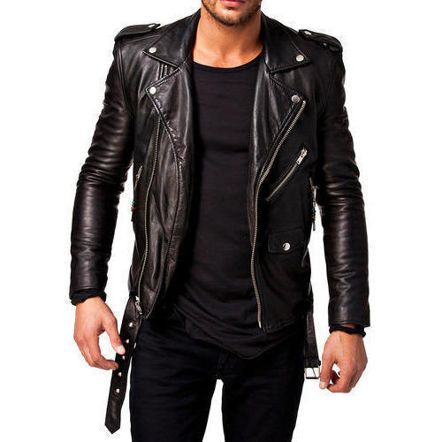 corrotto inno nazionale Lattuale  Small And XL Black Men's Leather Jacket, Rs 3500 /piece New Symphony  Manufacturers | ID: 17235418155
