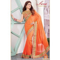 Elegant Georgett Saree