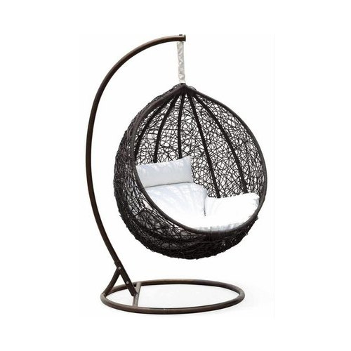 Brown Iron And Pvc Can Wire Hanging Swing Chair Rs 8500 Piece R S Shine Id 20639007897