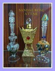 Sandalwood Concentrated Perfume Oil Attar Sandal Rose, For Fragrance, Liquid