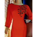Ladies hand embroidered Kurti