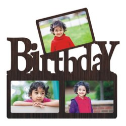 Plastic WF 31 Birthday Collage Frame, Size: 15x15 Inches