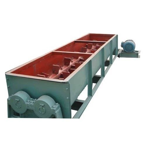 Mild Steel Double Shaft Paddle Mixer