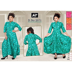 3/4th Sleeve Ladies Kurti