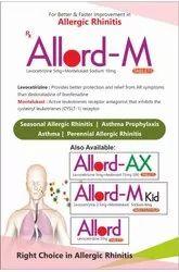 Allord-M- Levocetirizine 5mg Montelukast Sodium 10mg