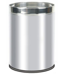 Plain Stainless Steel Open Bin