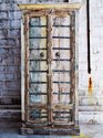Hotel Wardrobe in Vintage Distressed Finish for Resorts and Hotel Furniture