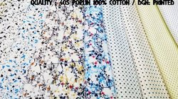 Cotton Poplin Printed Shirting Fabric 40x40