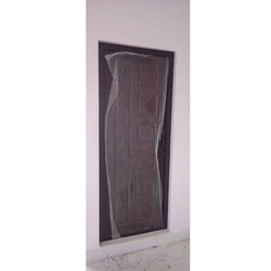 Brown PVC Hinged Door, For Home