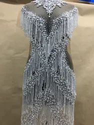 Crystal Embroidery Gown