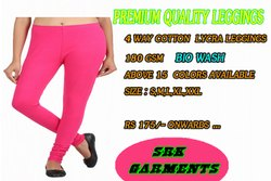 4 Way Lycra Jersey (bio Wash) Straight Fit Stretchable Legging