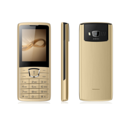 2.4 inch Beige Feature Phone, W11