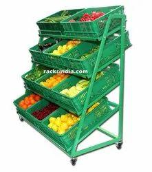 Fruits & Vegetables Display Rack