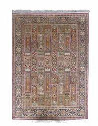 Hamadan Design Pure Silk Rug From India- SE02
