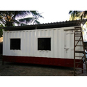 Rectangular Steel Portable Office Cabin