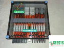 Solar Array Junction Box 6 in 6 out