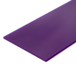 Violet Scratch Proof High Gloss Acrylic Laminated Panel