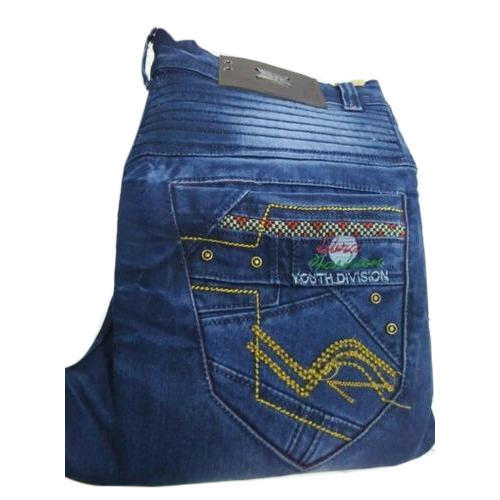 Slim Fit Stretchable Premium Blue Denim Jeans