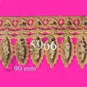 Latest Elegant and Designer Fancy Gold Zari Lace