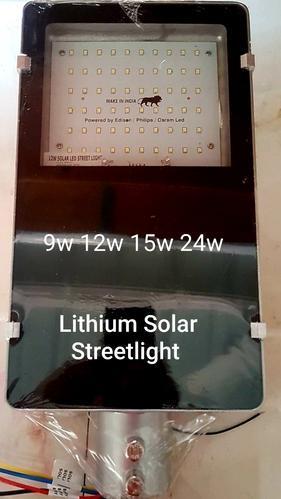 integrated solar streetlight lithium solar street light