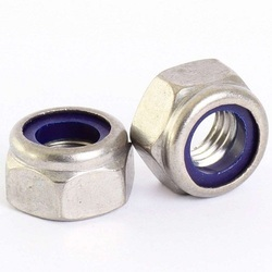 MS Hex Nylock Nuts