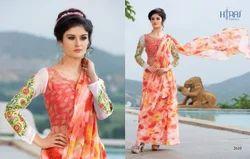 Party and Wedding Wear Designer Sarees, Machine