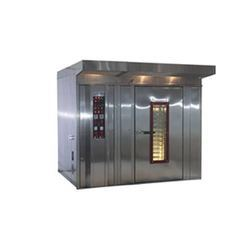 Rotary Rack Diesel Fired Baking Oven, Capacity: 500-1000 kg