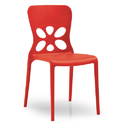 Plastic Wooden Cafe Chair