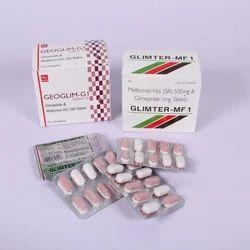 Glimepiride & Metformin Tablet