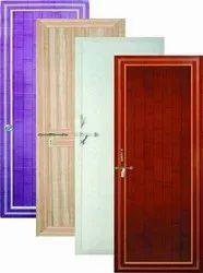 Glossy Bathroom PVC Door, For Home